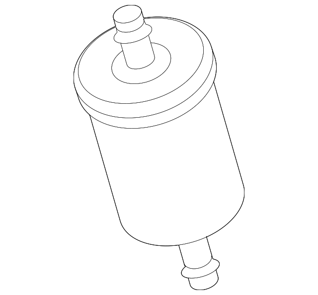 Genuine Ford Fuel Filter 2m5z 9155 Ca