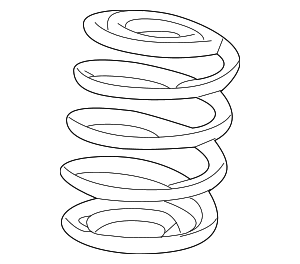 Coil Spring - GM (22885343)