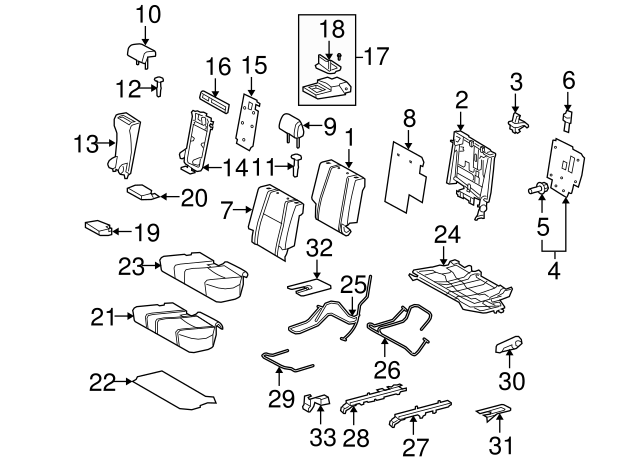 Headrest Guide