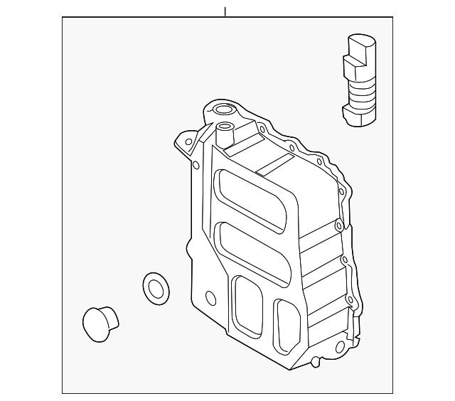 2011 2018 Hyundai Side Cover 45280 3b011