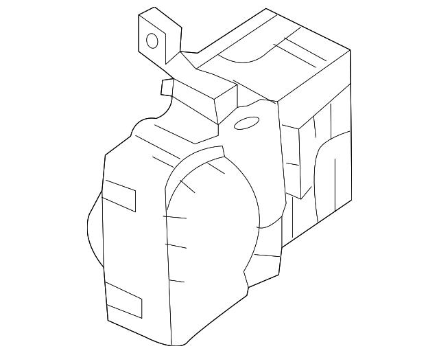 genuine oem fuse box part 91950 3k050 fits 2006 2007. Black Bedroom Furniture Sets. Home Design Ideas