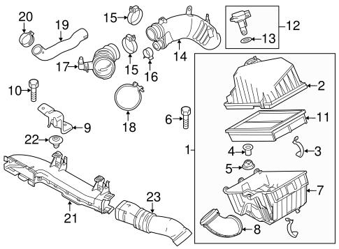 Genuine OEM Powertrain Control Parts For 2010 Mazda 3