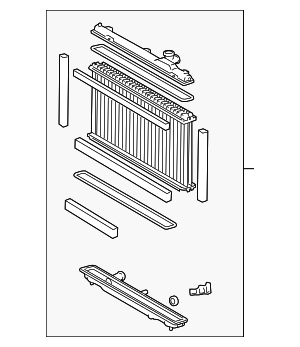 Radiator Assembly - Lexus (16400-31370)