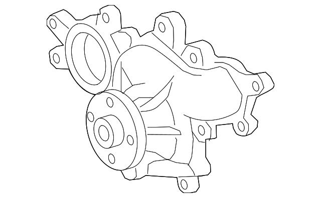 Genuine Lexus Water Pump Assembly 1610039506: Lexus Gs430 Engine Diagram At Hrqsolutions.co