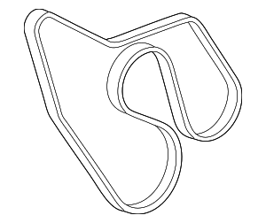 Serpentine Belt - GM (12637203)
