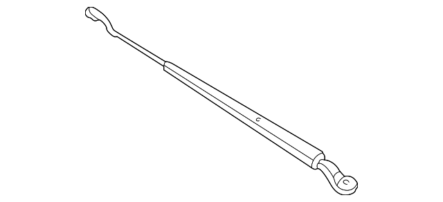 Arm, Windshield Wiper (Driver Side)