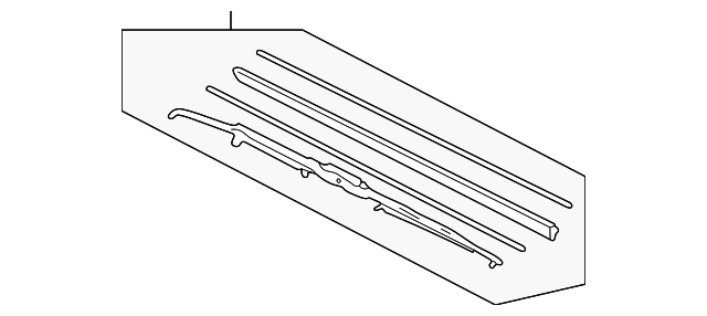 Blade, Windshield Wiper (450MM) (Passenger Side)