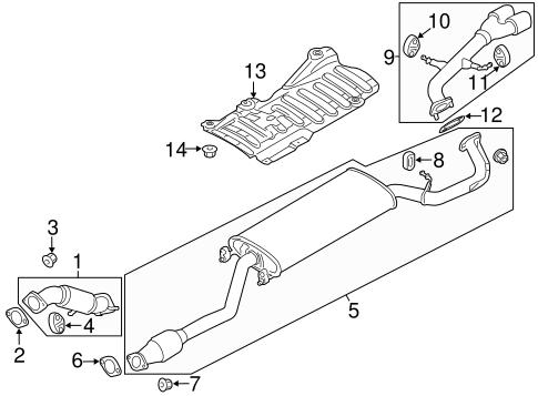 Exhaust Components Parts