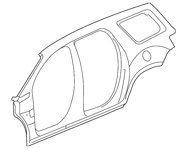 2018 Chevrolet Traverse Uniside Panel 84352084