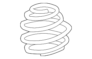 Coil Spring - BMW (31-33-1-093-082)