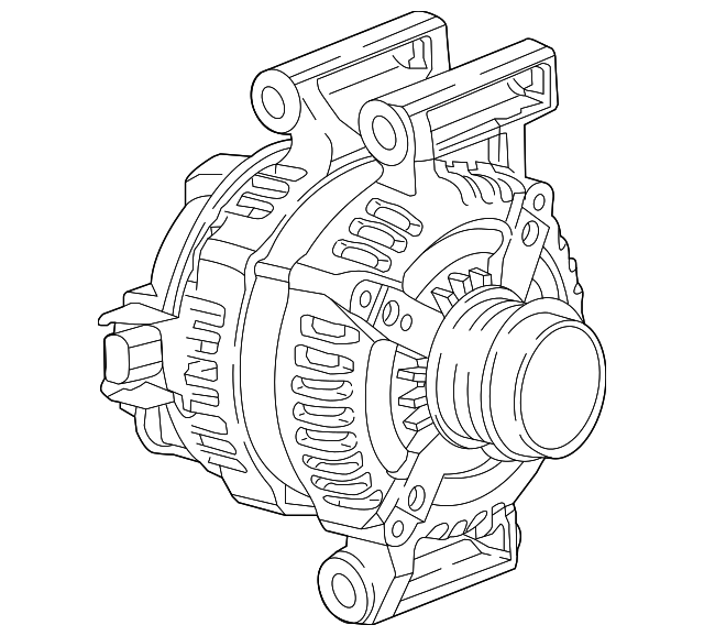 2016 buick envision alternator 23347522