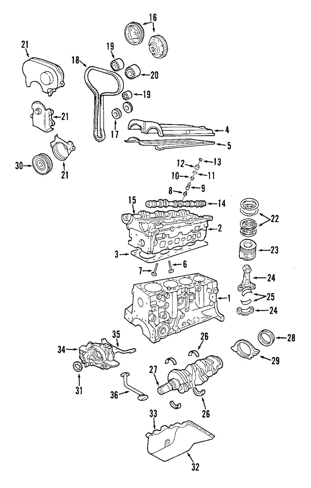 Genuine Ford Valve Cover Gasket YS4Z-6584-BA