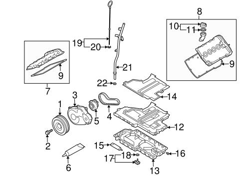 Engine Parts for 2003 Volkswagen Passat | VW Parts VortexVW Parts Vortex