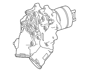 Thermostat Housing - Mercedes-Benz (177-200-55-00)