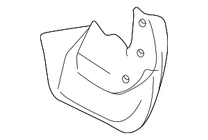 Mud Guard - Mazda (BJ0E-51-880)
