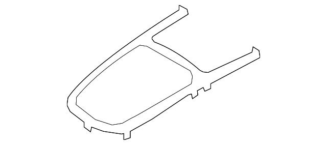 Genuine Hyundai 84651-3M000-AJ Console Cover