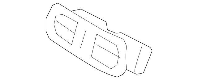Genuine Hyundai 84670-3M010-V2 Cup Holder Assembly