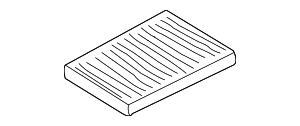Cabin Air Filter - Volkswagen (1J0-819-644-A)