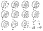 Wheel, Alloy - GM (23245759)