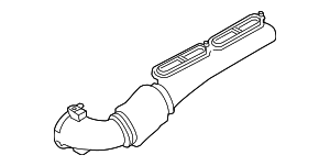 Air Inlet Hose - Land-Rover (LR036445)