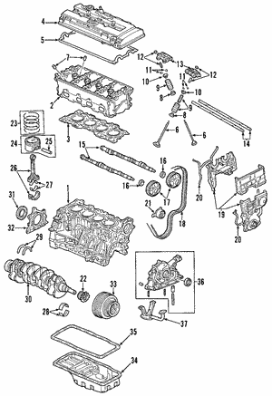 Pump Assembly, Oil - Honda (15100-P72-A01)