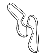 Serpentine Belt - Subaru (23780AA120)