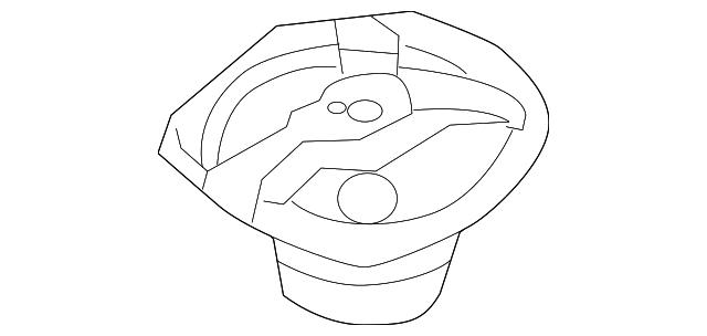 2003 Infiniti G35 Pkg Tray Speaker 28138 Al501