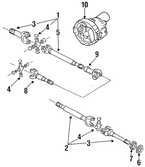 Carrier Front Axles For 1996 Ford F 150