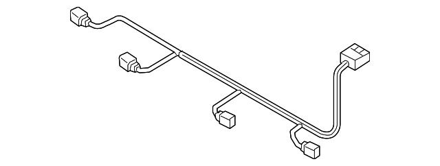 audi wire harness  8w0