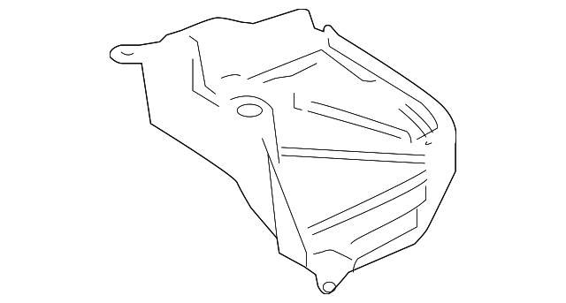 2016 2018 toyota prius under cover 58399 47030 genuine toyota parts  under cover toyota 58399 47030