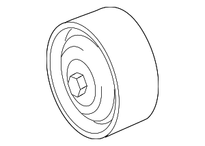 Pulley - Mercedes-Benz (156-202-05-19)