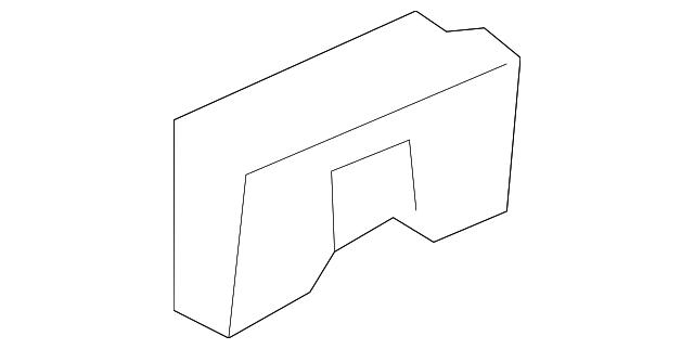 belt molding retainer - gm (11612108)