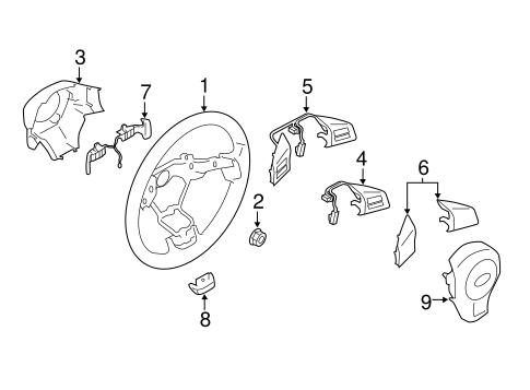 Steering Wheel Trim For 2015 Subaru Impreza