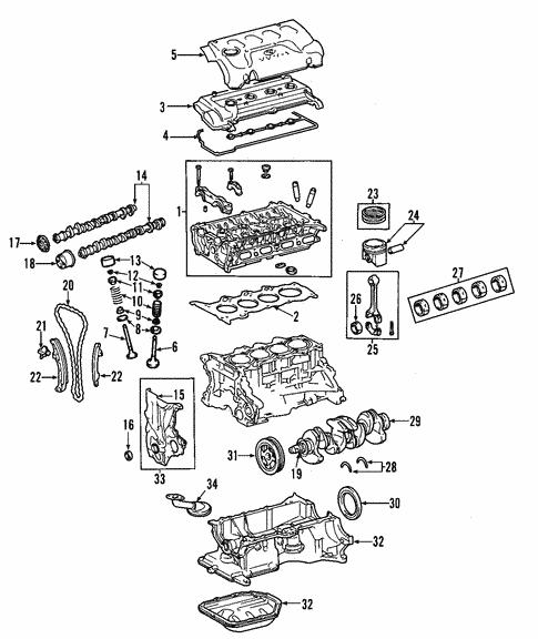 engine for 2006 scion xa