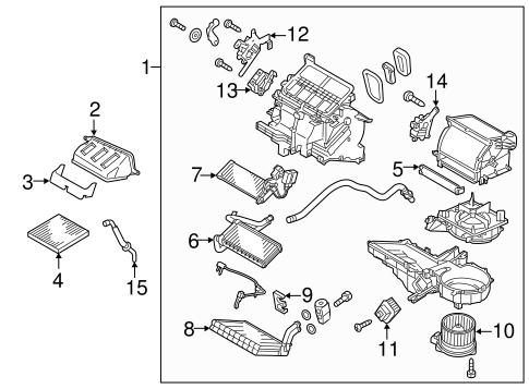 Blower Motor & Fan for 2014 Mitsubishi Mirage | Auto Parts | 2014 Mitsubishi Mirage Engine Diagram |  | Mitsubishi Parts Warehouse