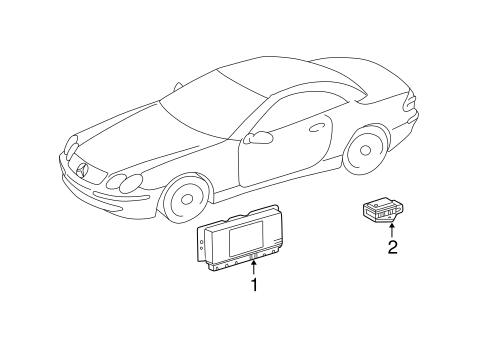 Mercedes Benz Yaw Rate Sensor 0025426618