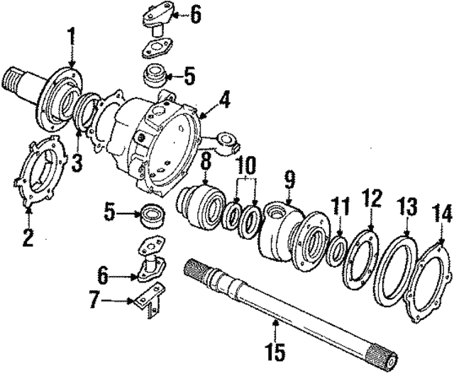 Drive Shaft - Land-Rover (RTC6754)