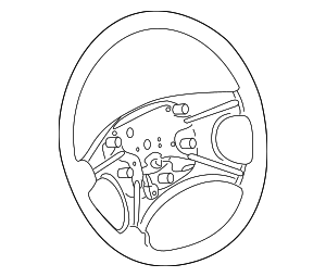 Steering Wheel - Kia (0K53N-32980CQ)