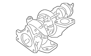 Turbocharger - Nissan (14411-BV84B)