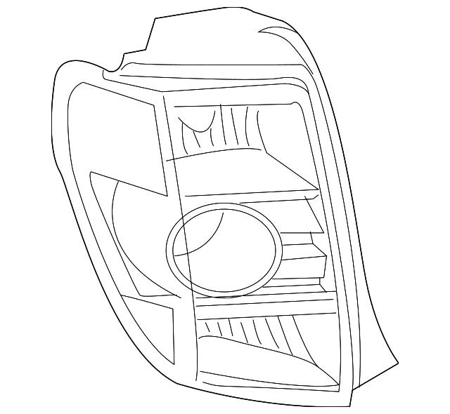 2014 Scion Iq Transmission: Tail Lamp Assembly - Toyota (81551-52690)