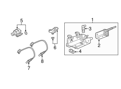 oem 2010 gmc terrain emission components parts