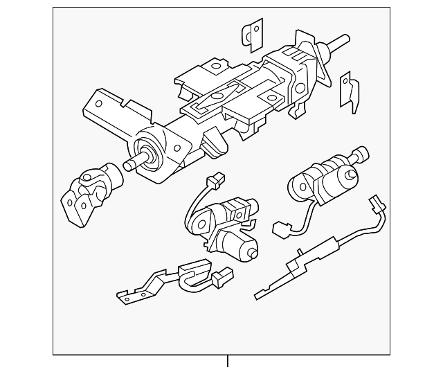 Steering Column Infiniti 48810eh26a: Infiniti M45 Engine Diagram At Hrqsolutions.co