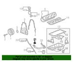 Oil Dipstick Tube for 1999-2008 Cadillac Chevrolet GMC Hummer 4.3L 4.8L 5.3L 6.0L 6.2L 8.1L 12563918