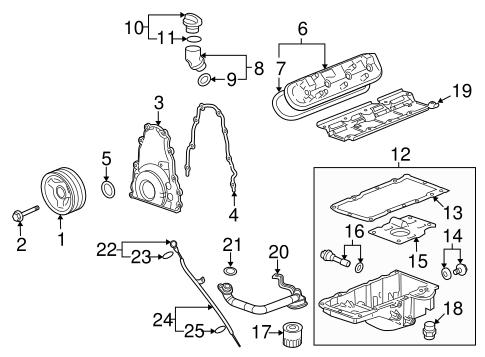 Engine Parts for 2010 Chevrolet Camaro | GMPartsDirect.com