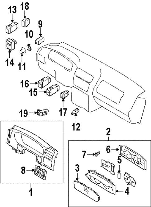 Awe Inspiring Cruise Control For 2002 Isuzu Axiom World Oem Parts Subaru Wiring Digital Resources Remcakbiperorg