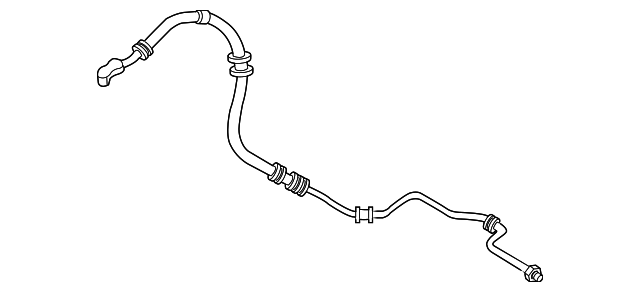 hose  power steering feed