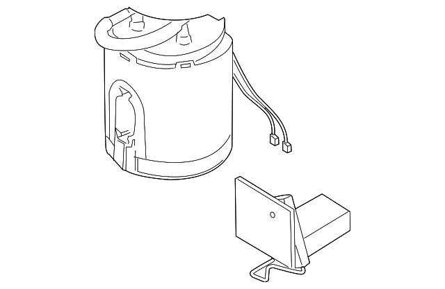1972 Vw Fuel Pump