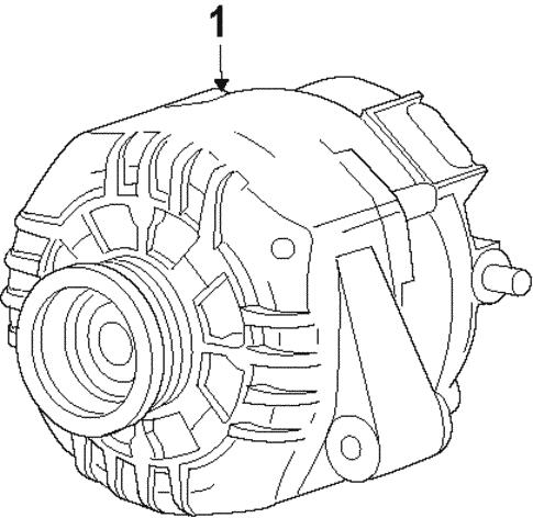 Alternator For 2008 Saturn Aura Gmpartsdirect Com
