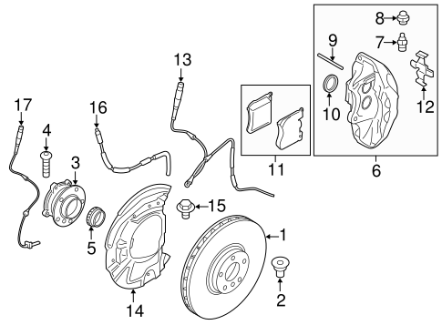 Front Brakes For 2014 Bmw X5