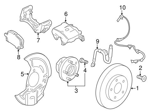 Oem 2018 Chevrolet Malibu Anti Lock Brakes Parts